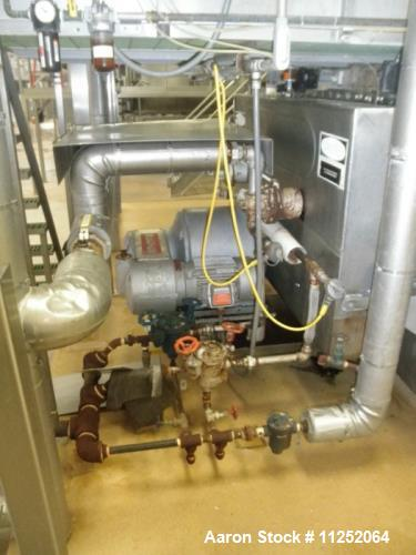 Used- Buflovak Double Drum Dryer for Vacuum Service.