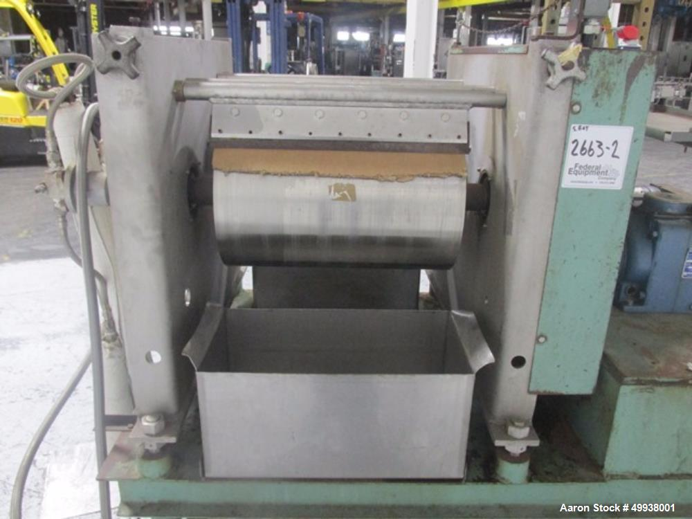 Used- Buflovak Double Drum Dryer.