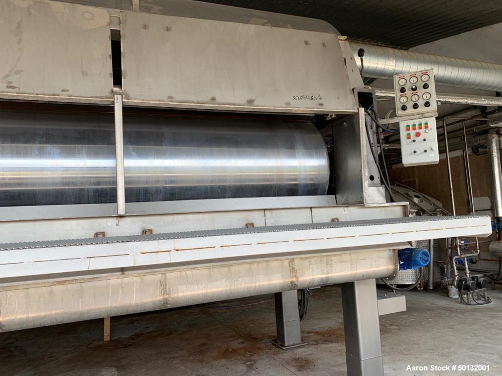 Used- GL & V Double Drum Dryer