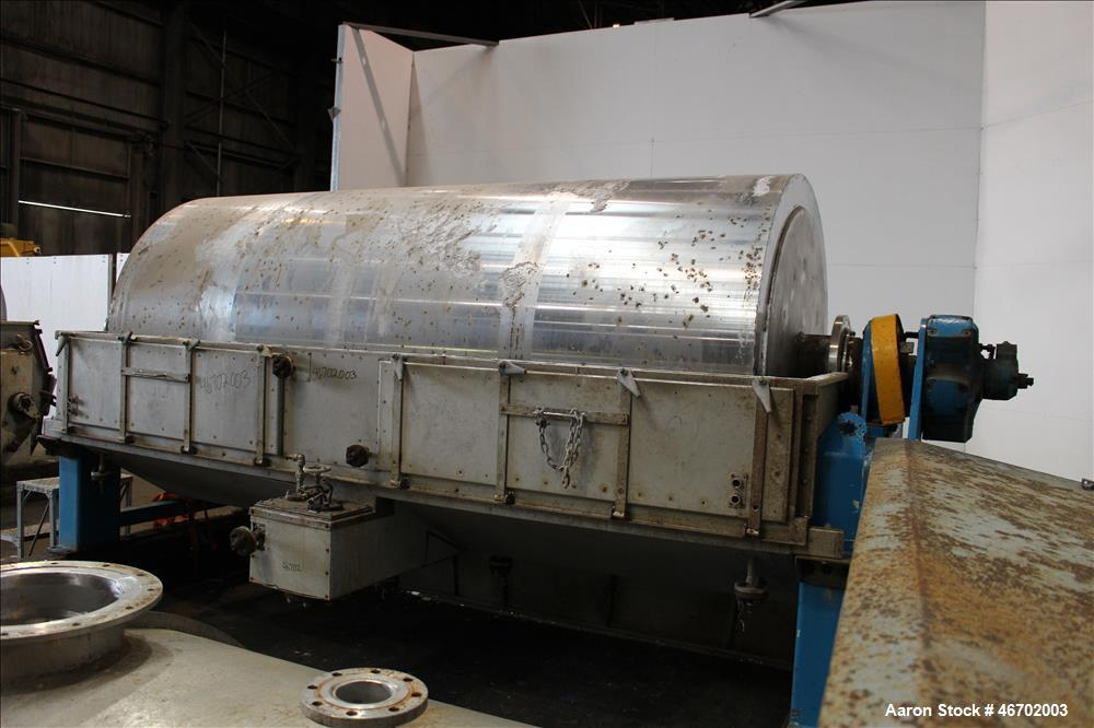 Used- GMF Gouda Single Drum K Flaker, Type K17.5/36, 304 Stainless Steel.