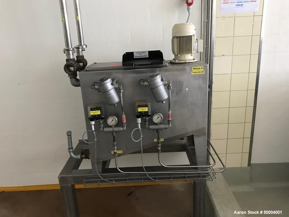 Used GMF-Goudsche Mashinefabriek B.V. single drum dryer