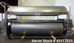 Used- GL&V Drum Dryer, Model, Chrome Plate Carbon Steel.
