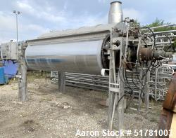 """Double Drum Dryer. (2) Approximate 42"""" diameter x 120"""" face chrome plated rolls. Approximate rating..."""