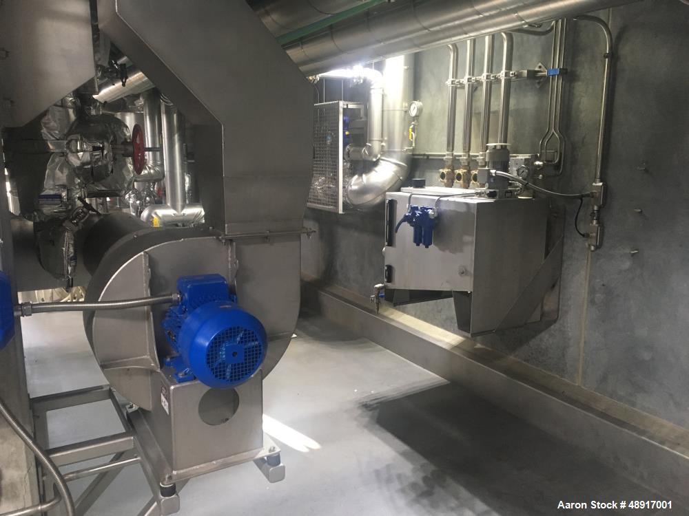 "Used- GMF Gouda T 15/40 KD Double Drum Dryer, 1508 MM (59.37"") Diameter"