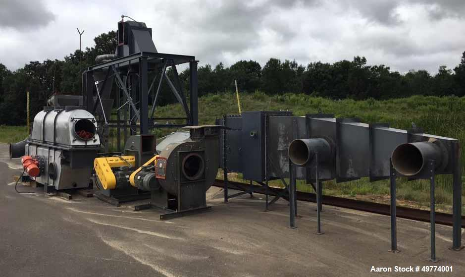 Used- Carrier Vibrating Equipment Fluid Bed Dryer.