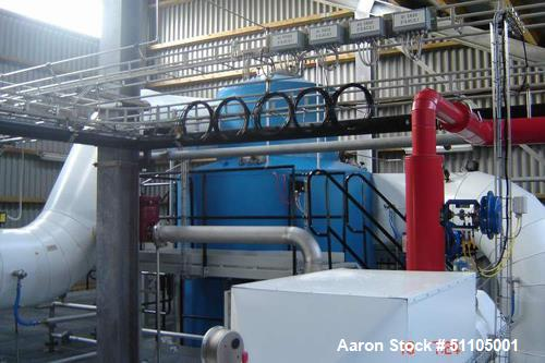Used- Gea-Niro Closed Cycle Continuous Fluid Bed/Granulation Plant