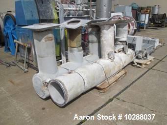 Used- Jeffrey Fluid Bed Dryer, Model TMV
