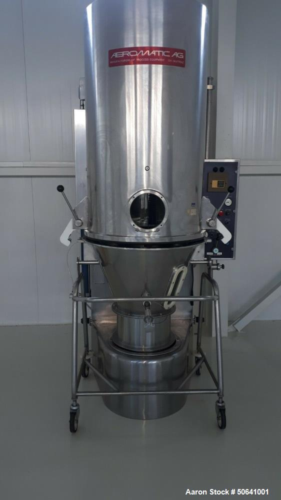 Used- Aeromatic AG S3 Fluid Bed Dryer