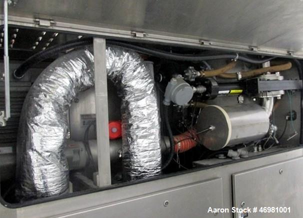 Used- Fluid Air Fluid Bed Dryer Granulator, Model 0020