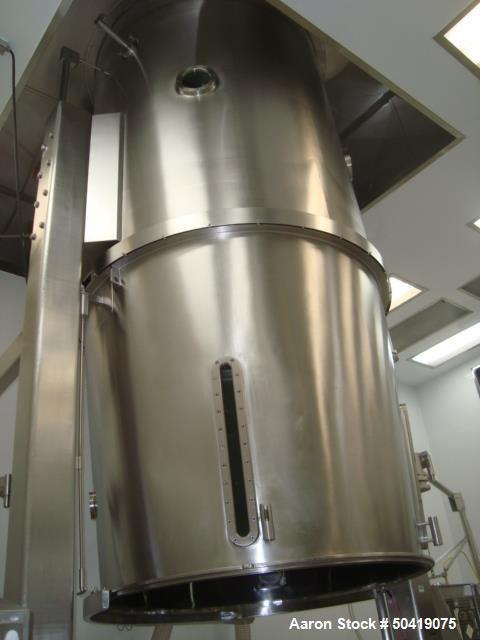 Used- Glatt GPCG 300 Glatt GPCG 300 Fluid Bed Dryer/Granulator/Coater System