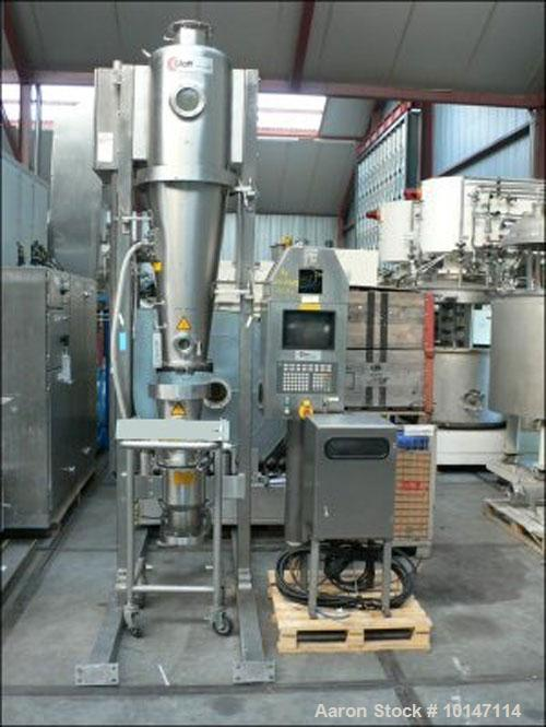 Used-Glatt Fluid Bed Dryer, Type GPCG-5
