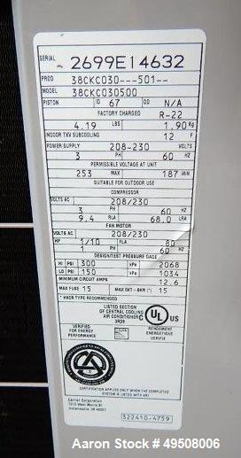 Used- Glatt Fluid Bed Dryer, Model GPCG-5
