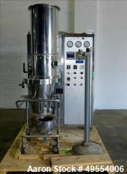 Used- Aeromatic (GEA) Fluid Bed Spray Dryer, Model S1.5.