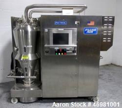 Used- Fluid Air Fluid Bed Dryer Granulator, Model 0020