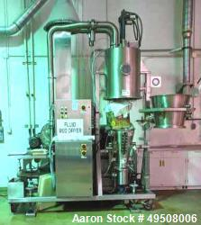 Used- Glatt Fluid Bed Dryer, Model GPCG-5