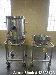 Used- Glatt WST 15 UDH Spray Granulation Chamber