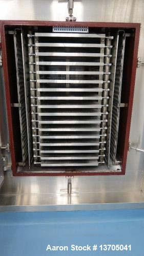 Used- Freeze Dryer, 96 Square Feet Hull, Model 96-F-75.