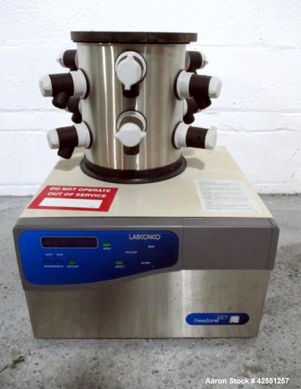 Used- Labconco Benchtop Freeze Dryer, Model FreeZ