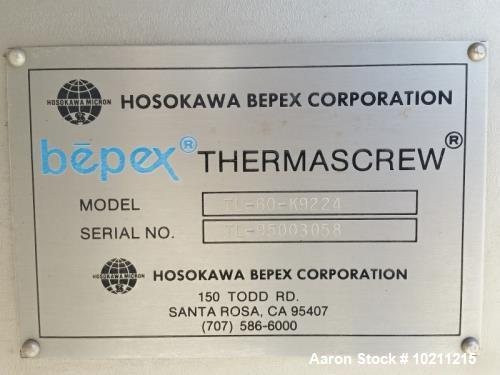 Unused- Hosokawa Bepex Rietz Processor / Blancher / Cooker.