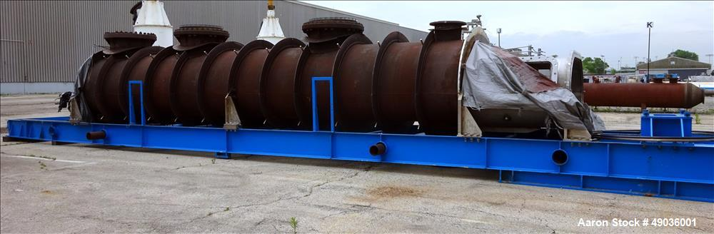 Used- Therma-Flite Electric-Scru Indirect Continuous Process Dryer