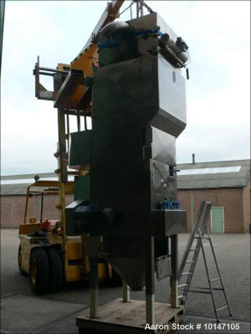 Used- Stainless Steel Halvor Forberg Double Shaft Paddle Dryer, FT-200