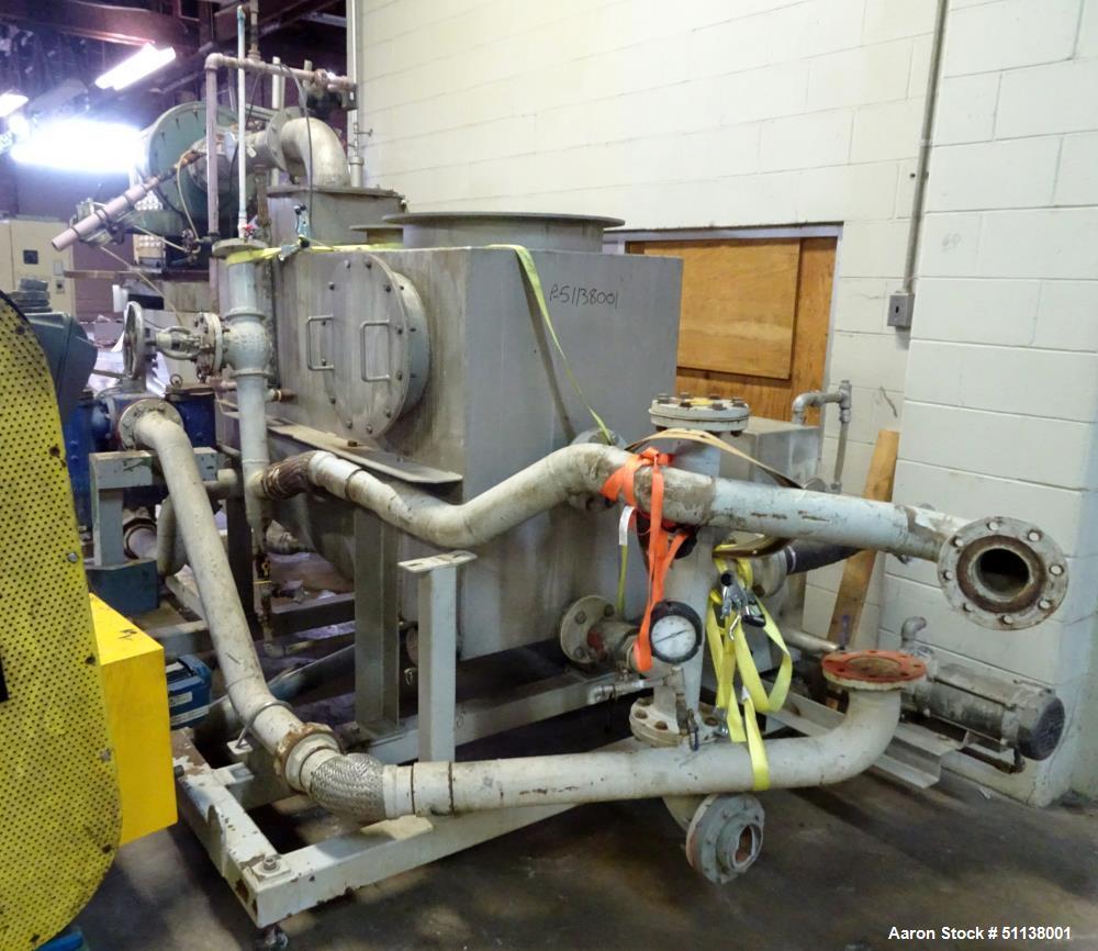 Komline Sanderson NARA 11W-1200 Paddle Sludge Dryer