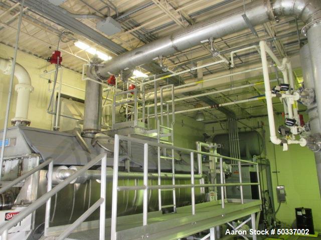 Used- Komline Sanderson Paddle Dryer System