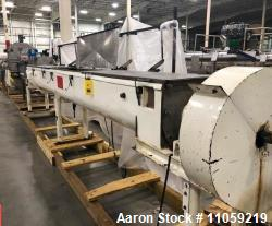 "Used- Holoflight/Thermal Dryer/Cooker with Heated trough and shaft. 16"" x 18' Lg"