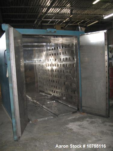 Used- Grieve, Model TBH-500, Floor Level Truck Oven. 80 cubic feet capacity, 12KW heat input, 500 degrees F maximum temperat...