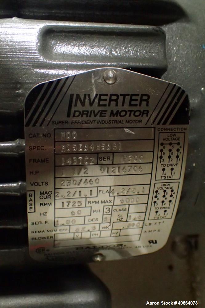 Used- Gruenberg Oven, Model T18HS74.35SS