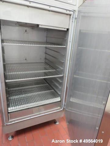 Used- Gruenberg Stainless Steel Drying Oven, Model CG15V240SS.