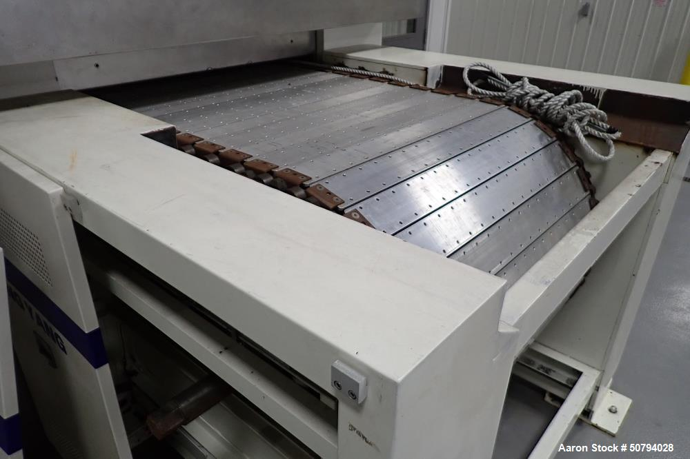 Used- Dong Yang Food Machinery 3 Zone LPG Hybrid Oven