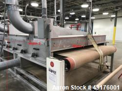 Used- Radiant Energy System Nonwoven IR Oven.