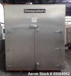Used- Despatch Industries Tray Drying Oven, Model GWB*78x150x50.