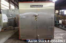 Used- Despatch Industries Gas Tray Drying Oven, Model GWB*78x150x50.