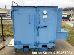 Used-HeatPro drum heater, Model HPSC2SS, stainless steel internals, 2 drum capacity, steam heated, Serial # 002876-001.