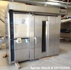 "Revent 620 Double Rack Natural Gas Oven, Model 1X1GS135G. Approximate chamber 55"" wide x 48"" deep x ..."