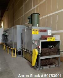 Used- Wisconsin Oven Corporation Natural Gas Screen Print Oven