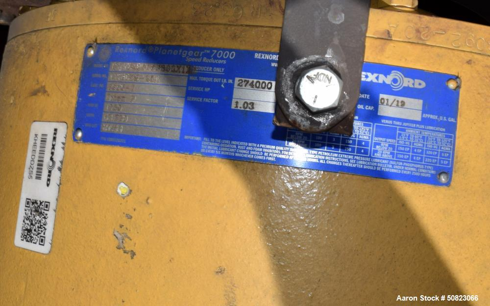 Used- Astec Rotary Hot Oil Tube Type Indirect Dryer, Model TD-1060