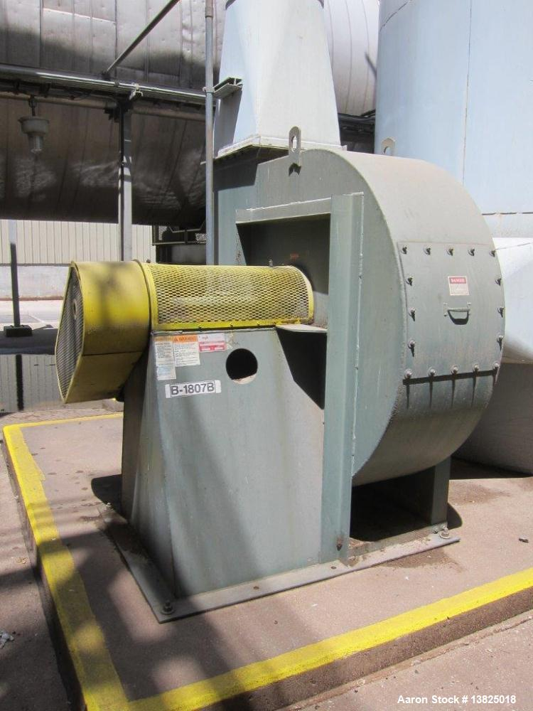 Used- ICM Direct Fired Rotary Hot Air Dryer, Model 40136L