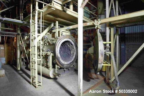 Used MEC 13' x 60' Triple Pass Rotary Drum Dryer