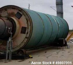 Used- 31' Single Pass Drum Dryer. Carbon Steel.