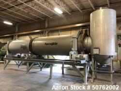 Used- Aeroglide Rotary Dryer with Settling Chamber