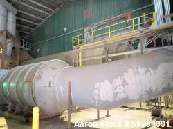 Used- Dupps Quad Pass Rotary Hot Air Dryer, Model QP12-55