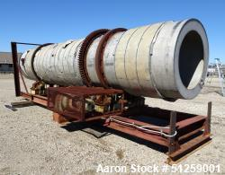 Used- EDW Renneburg & Sons Stainless Steel Rotary Dryer