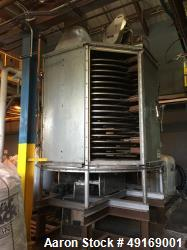 Used- Wyssmont Tray Dryer, Model NE-18, Stainless Steel.