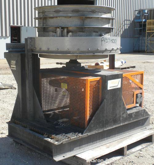 Used- Wyssmont Turbo-Dryer, Model K10