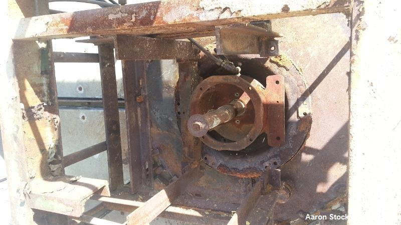 """Used- Wyssmont Turbo Tray Dryer, Model N-28. 316 S/S, (28) - 78"""" diameter trays. Includes steam coils and blower. Requires g..."""