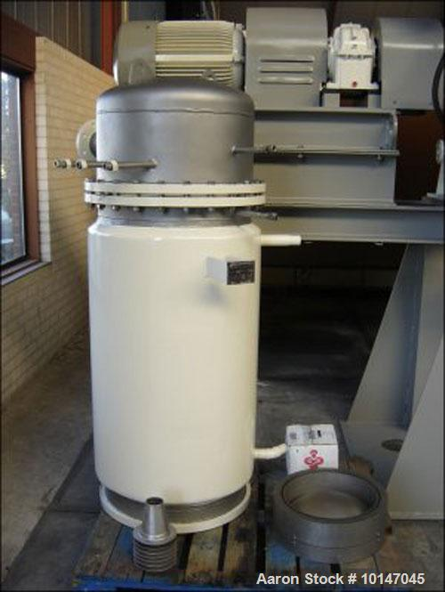 Unused-Lodige VT-1200/2MZ ??? Dryer, stainless steel (1.4571), capacity 42.4 cubic feet (1200 liter). Trough sizes: diameter...