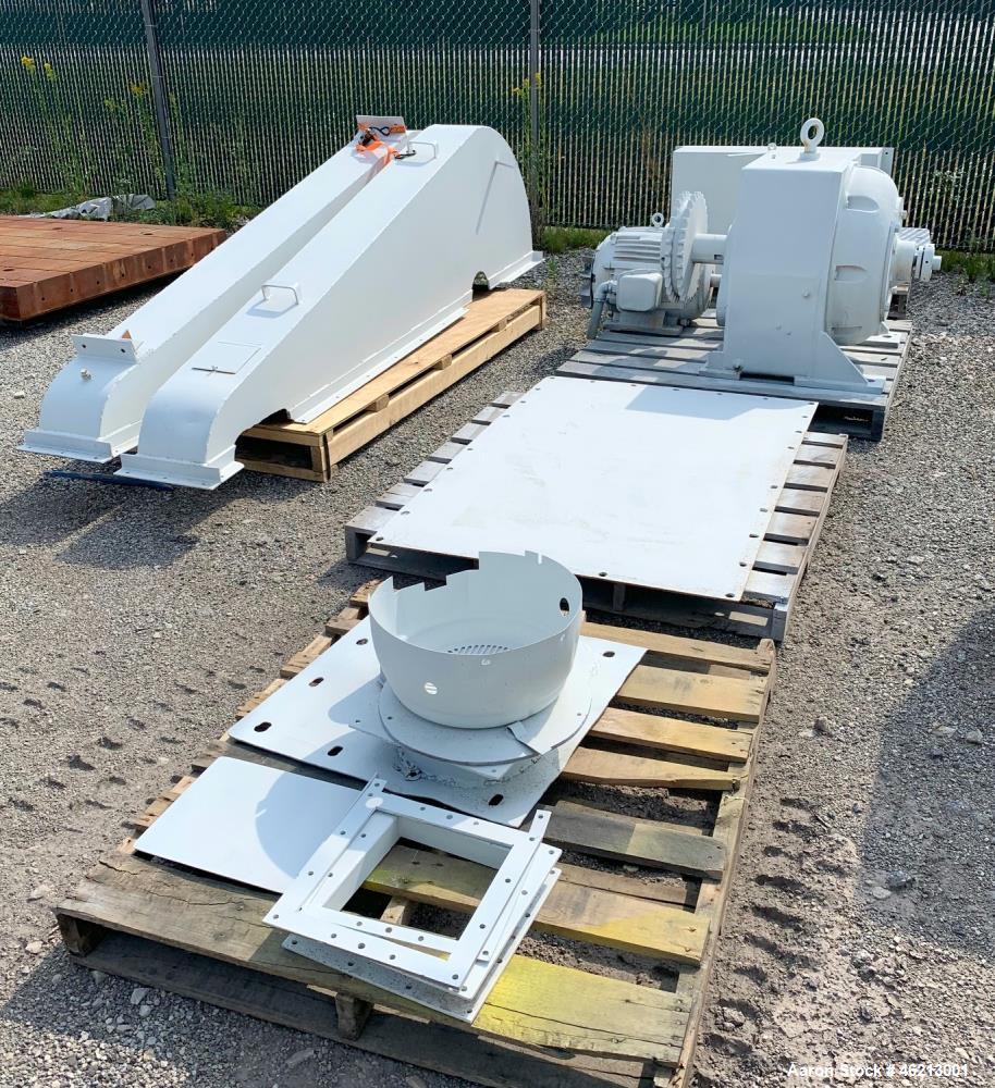 Used- Bethlehem Corporation Vacuum Dryer/Mixer, Approximately 500 Cubic Feet